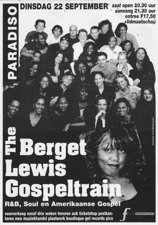 Berget Lewis & The Gospel train